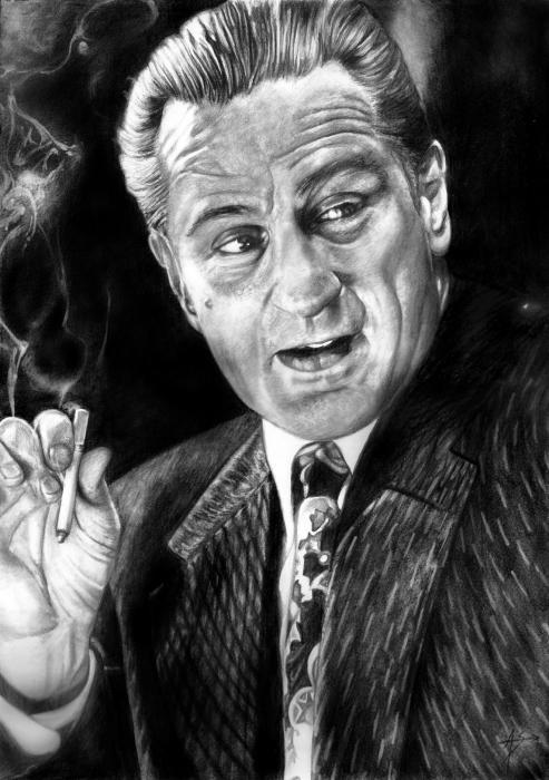 Robert De Niro by Arcitenens